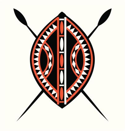 Masai Shield & Spears