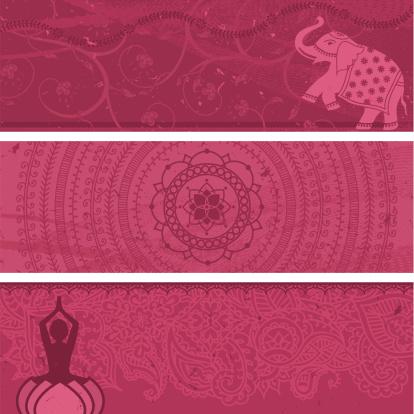 Masala Banners Pink