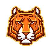 istock Mascot stylized tiger head. 1250207070