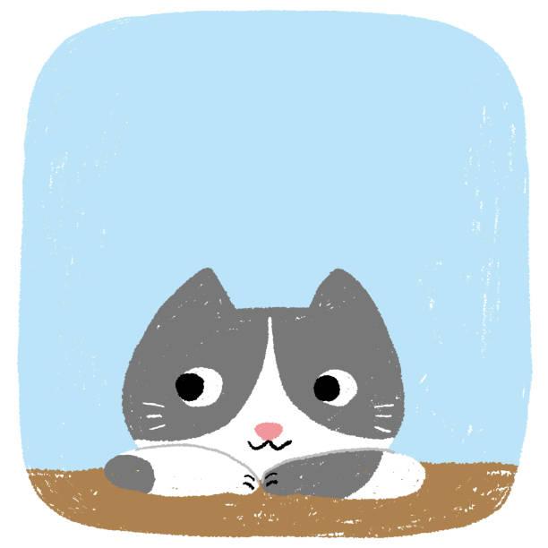 Mask cat vector art illustration