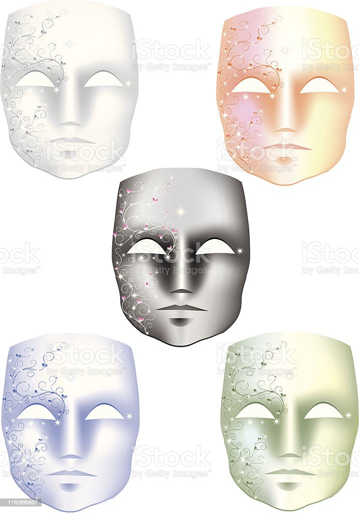 Mask royalty-free mask stock vector art & more images of awe