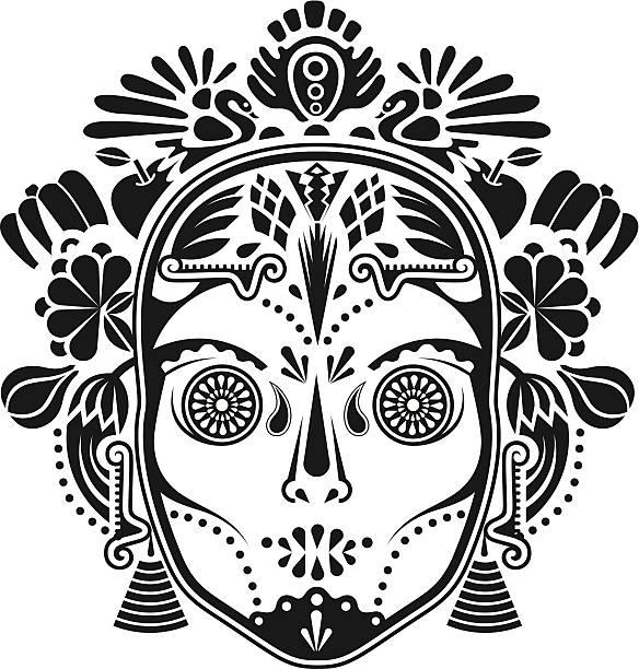 Maski. – artystyczna grafika wektorowa