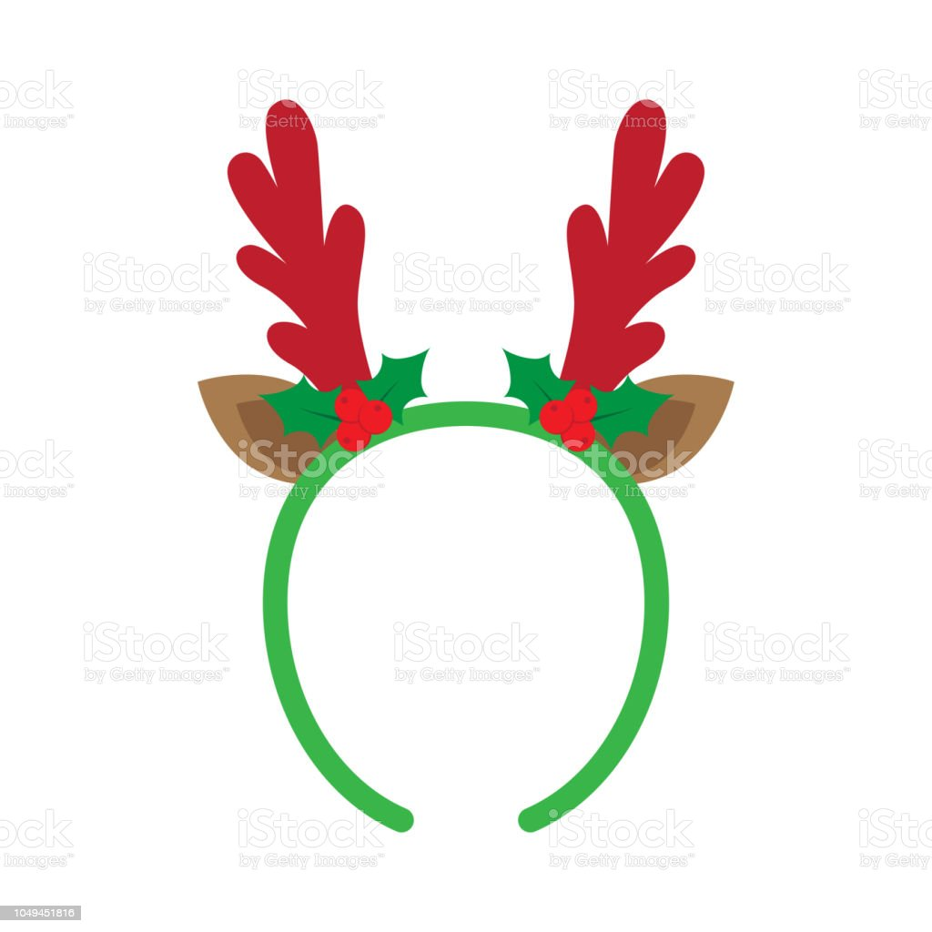 Mask With Reindeer Antler Stock Illustration Download Image Now Istock