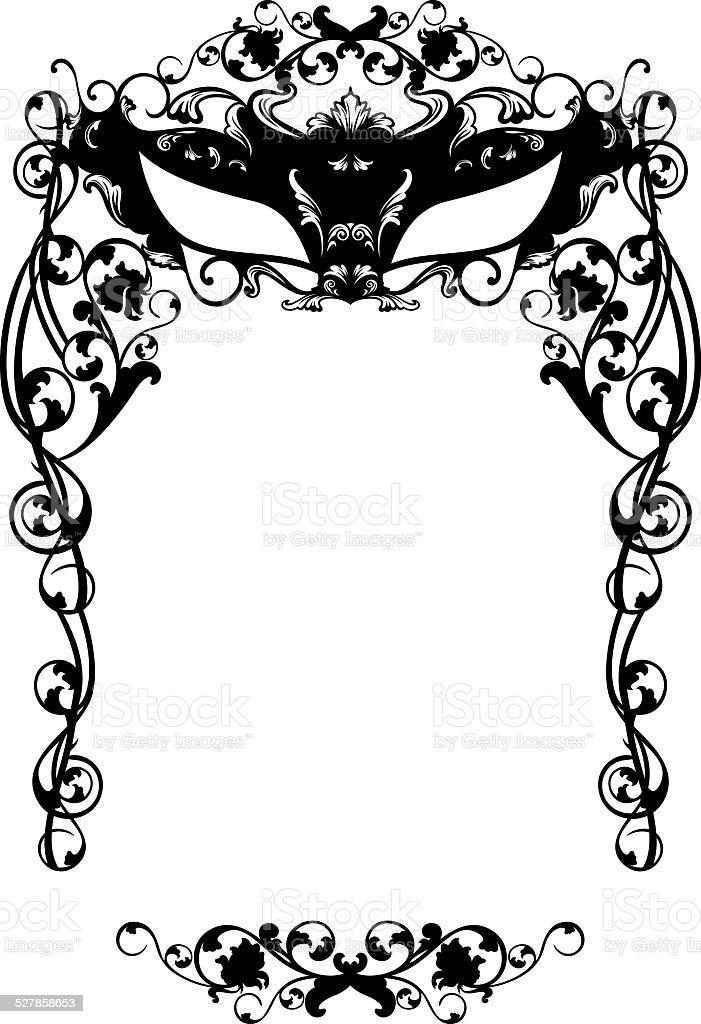 Masked Ball Invitation stock vector art 527858653 | iStock