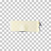 Vector Realistic Adhesive Tape Set Isolated On Transparent