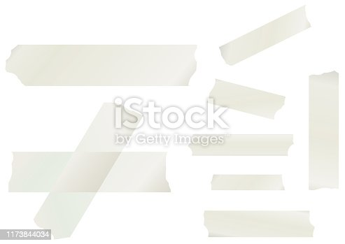 Masking Tape Vector Collection