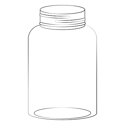 Mason Jar Illustration