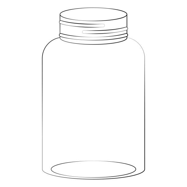 Empty Mason Jar Illustrations, Royalty-Free Vector ...