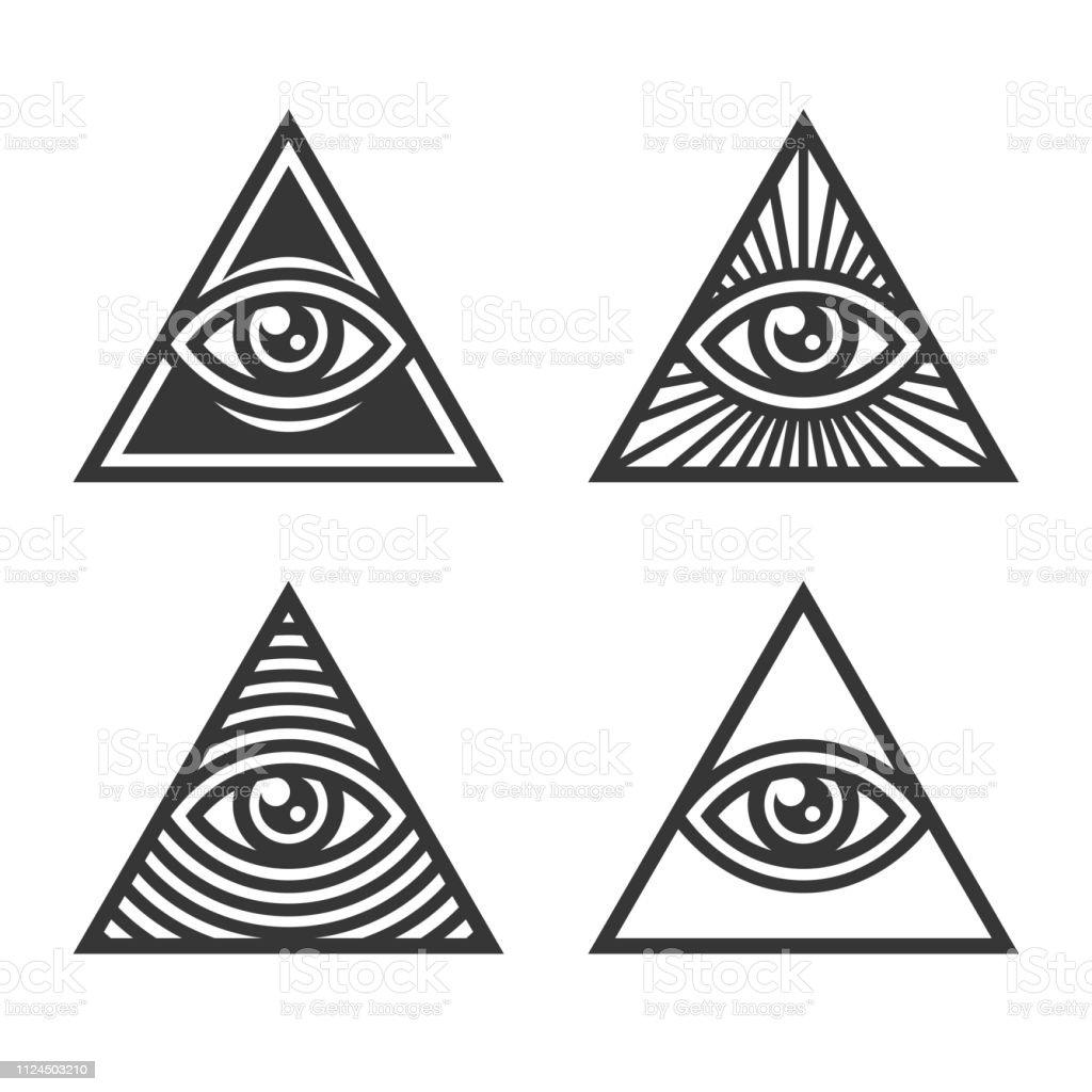 Auge bedeutung dreieck tattoo Das alles