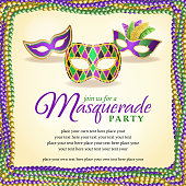 Masquerade party backgrounds.