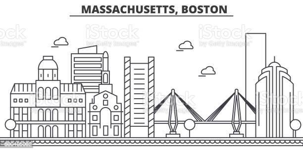 Massachusetts boston architecture line skyline illustration linear vector id860465082?b=1&k=6&m=860465082&s=612x612&h=xnp1nnbvtt4cqdvlcdhxm5ghvoip2febokjqblerx70=