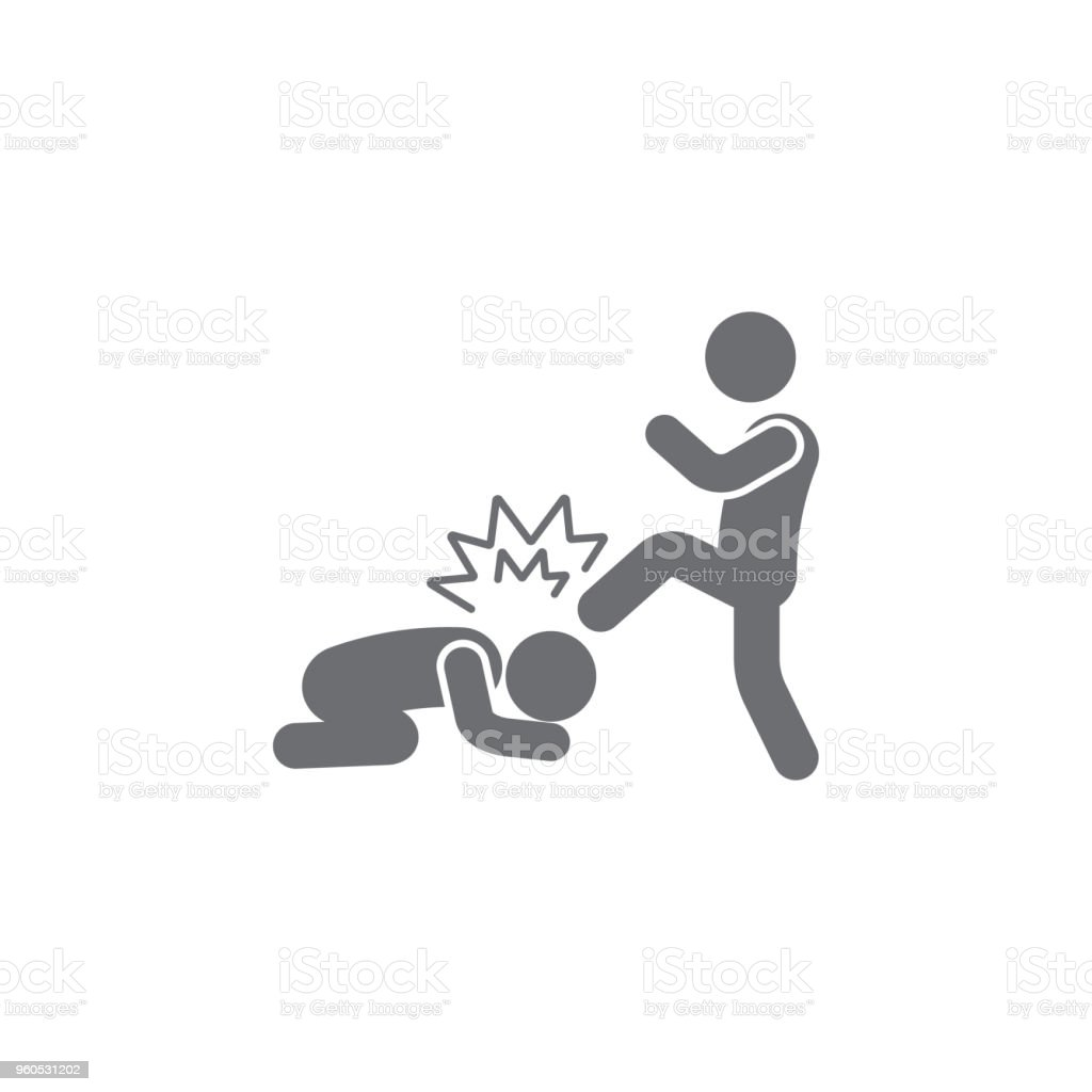 massacre icon. Simple element illustration. massacre symbol design template. Can be used for web and mobile vector art illustration