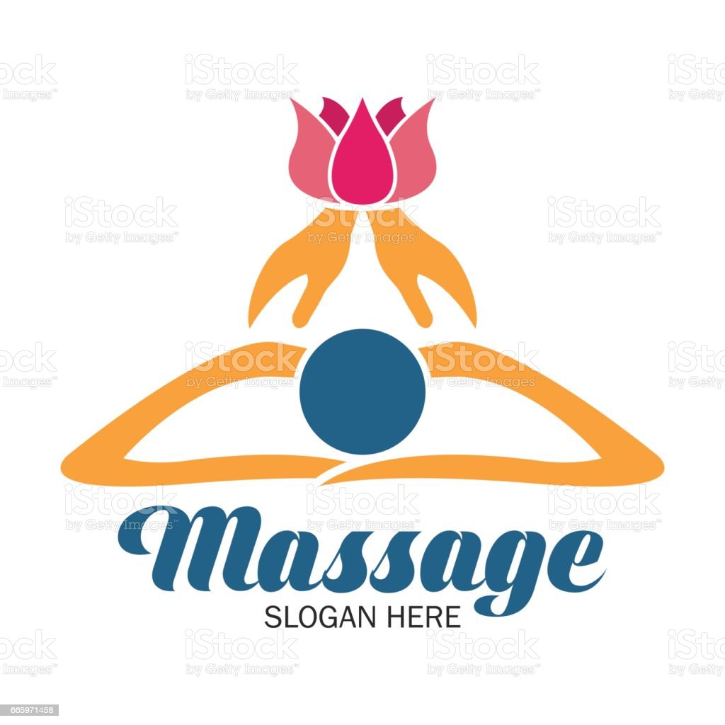 Massage therapy icon