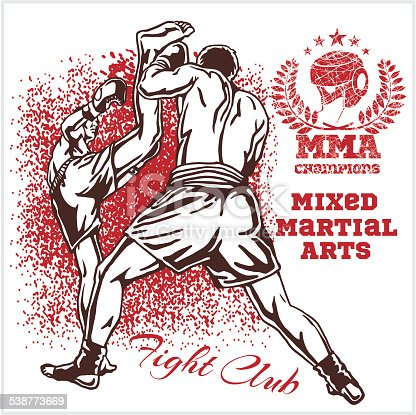Match two fighters of martial mixed arts