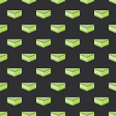 istock Matcha Sando Japanese Sandwich Pattern 1306021206