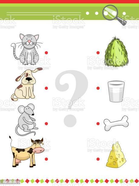 Matching game for preschool children book cartoon vector animals and vector id496383858?b=1&k=6&m=496383858&s=612x612&h=a0lsnrbqx4d4ar30p81k0yrvvlv2wohhgcjiucuvf2g=