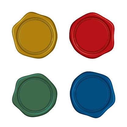 Material: Antique sealing wax (4 color set)