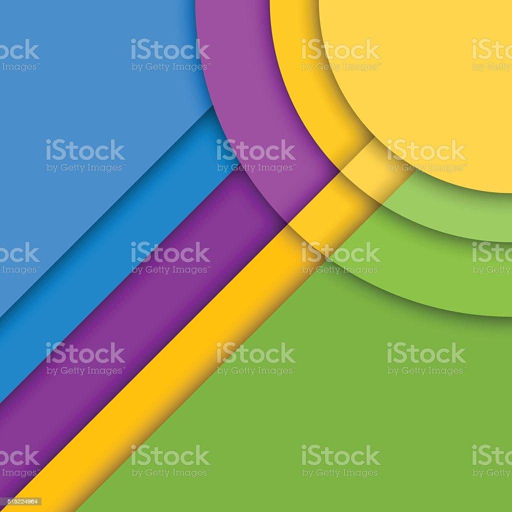 資料のデザインの背景モダンでカラフルなベクトルの背景流行の幾何学的