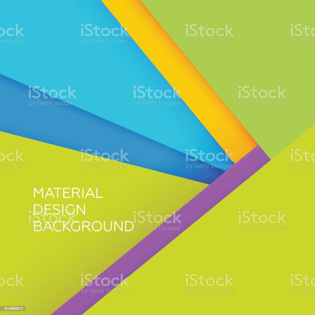 Material Modern Flat Design Background Geometric Vector Wallpaper Royalty Free