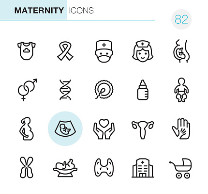 Maternity - Pixel Perfect icons