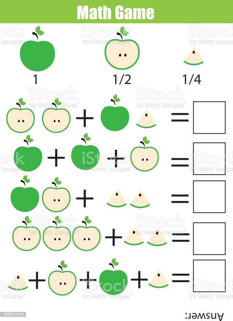 Mathematische Bildung Zählen Spiel Für Kinder Zusatzarbeitsblatt ...