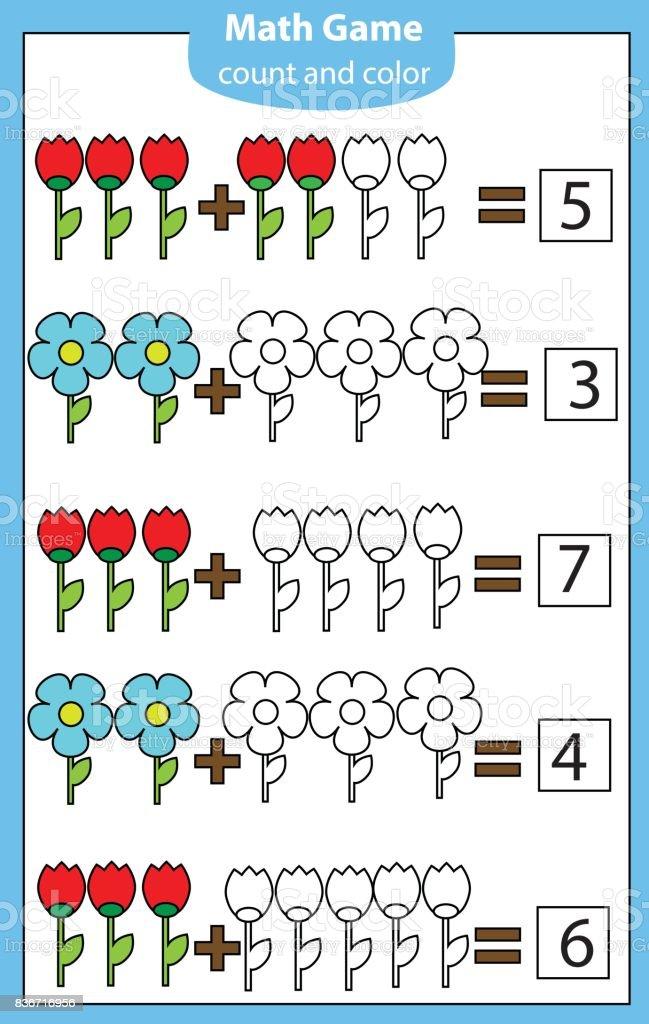 Cocuklar Icin Matematik Egitici Bir Oyun Denklemler Sayma Ek