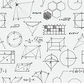 Math equations seamless