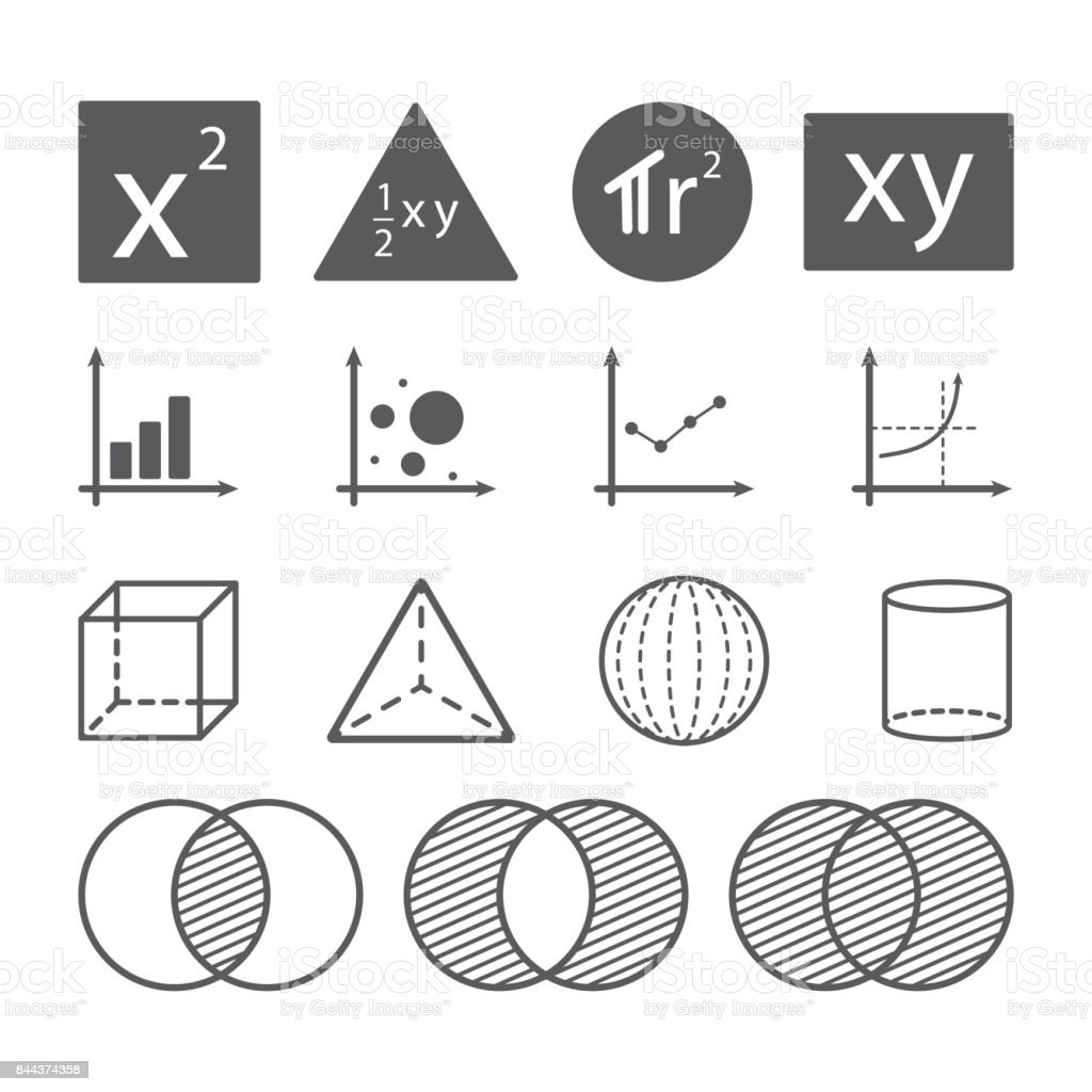 Math Symbol Konzept Vektor Illustration 844374358 Istock