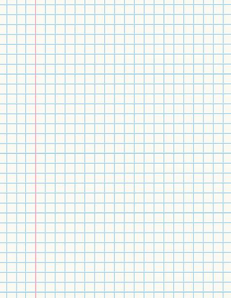 ilustraciones, imágenes clip art, dibujos animados e iconos de stock de papel de matemáticas - fondos escolares
