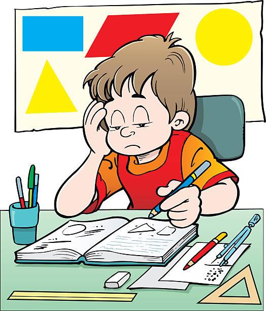 数学クラス - 作文の授業点のイラスト素材/クリップアート素材/マンガ素材/アイコン素材