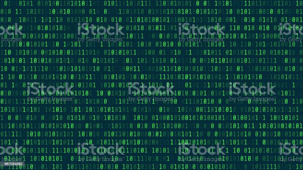 Matrix Hintergrundstil Computerviren Und Hacker Bildschirm