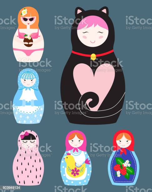 Matryoshka vector traditional russian nesting doll toy with handmade vector id923949134?b=1&k=6&m=923949134&s=612x612&h=cqu9c60cem5b6yktwaienf4fs6jcwjr0m iotkohuik=