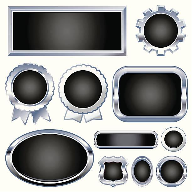 illustrations, cliparts, dessins animés et icônes de matt est le nouveau noir;! - pastille