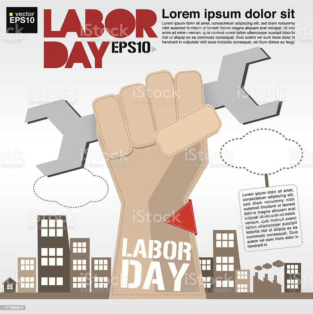 May 1st Labor day illustration conceptual. royalty-free may 1st labor day illustration conceptual stock vector art & more images of adult