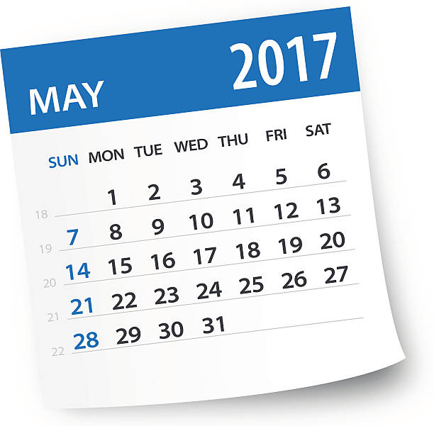 royalty free may calendar clip art vector images illustrations