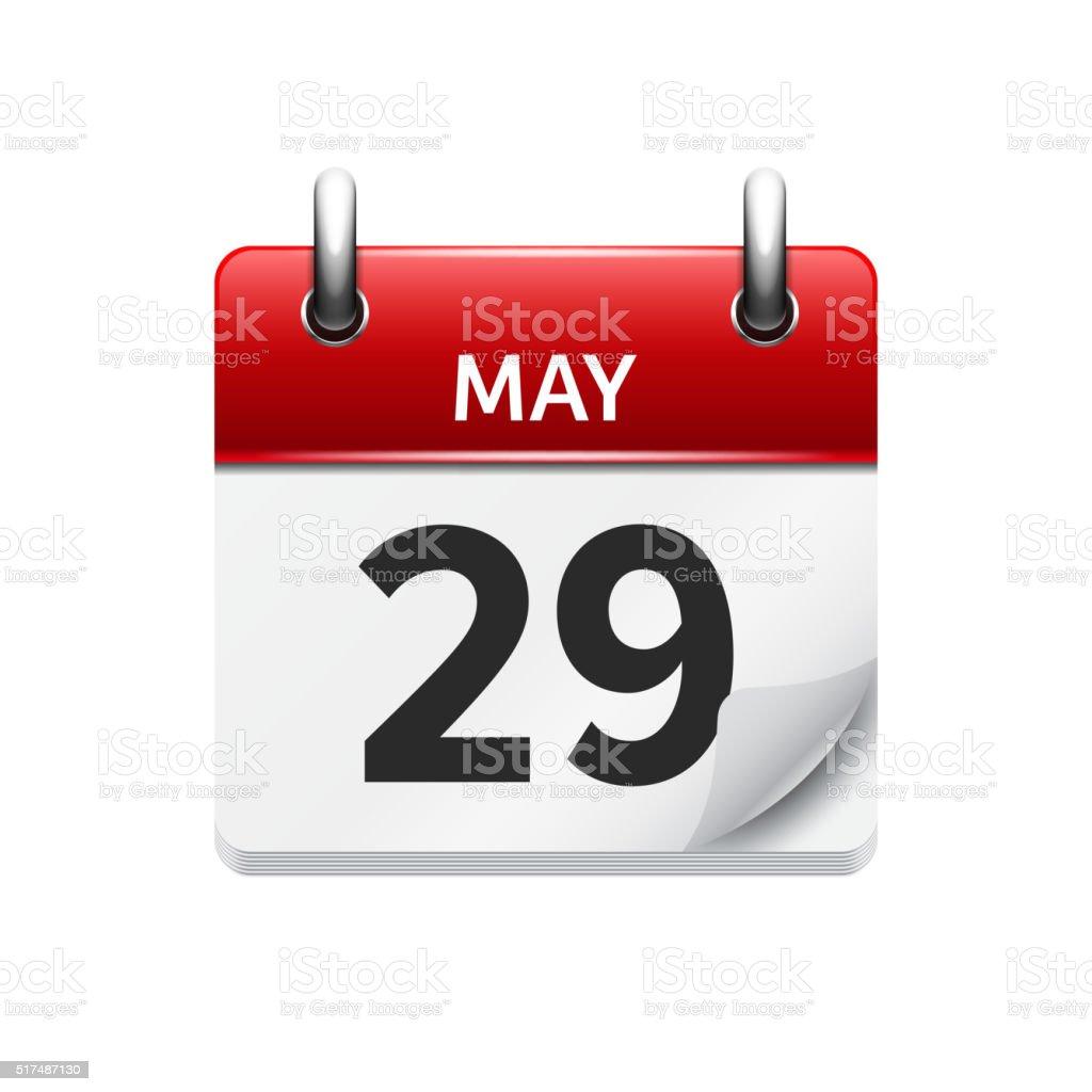 5 月 29 日ですベクトルフラット...