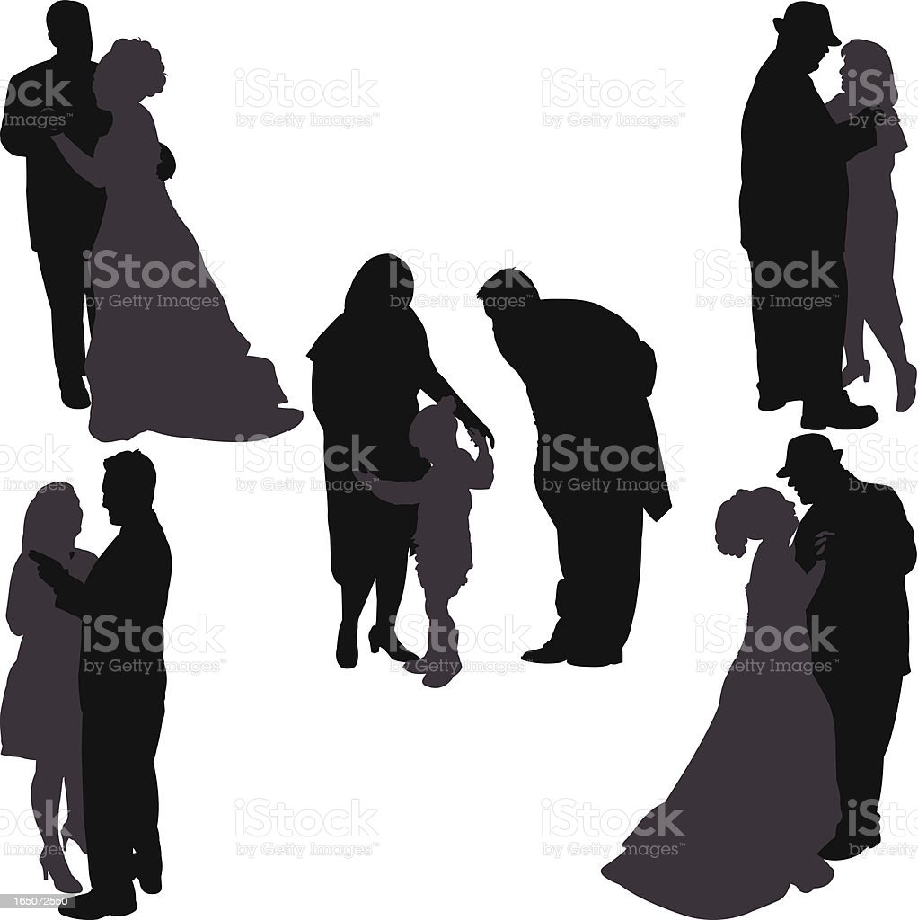 May I Have This Dance royalty-free stock vector art