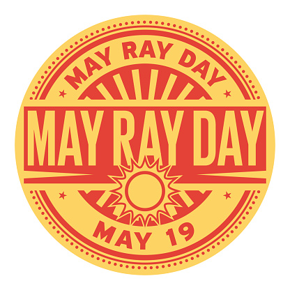 May Ray Day stamp