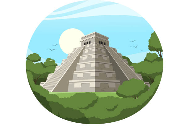 best mayan illustrations royaltyfree vector graphics