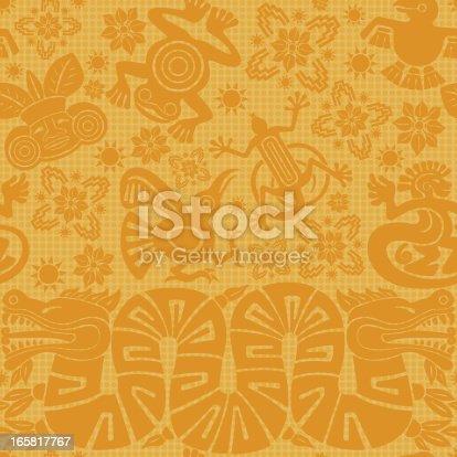 istock Mayan Seamless Pattern 165817767