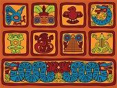 Mayan Styled Blocks