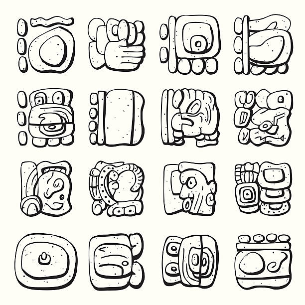 Royalty Free Mayan Art Clip Art Vector Images Illustrations Istock