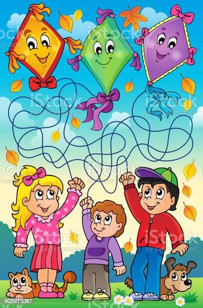 Maze 9 outdoor children with kites vector id505913087?b=1&k=6&m=505913087&s=612x612&h=9v ffp2mb6tcttugqkv1v0lkgwchckurk1wexyg bua=