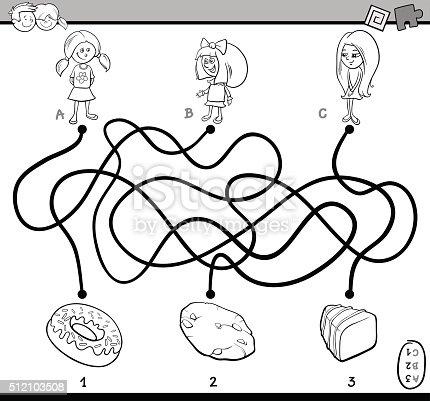 istock Senderos o maze juegos para niños 482668198 istock path ...