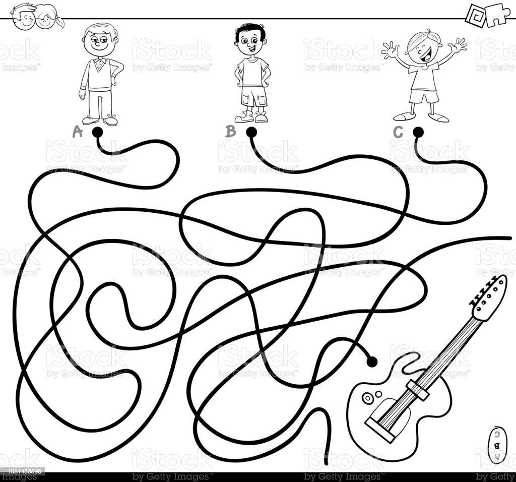 gitarre bilder zum ausmalen  ausmalbilder