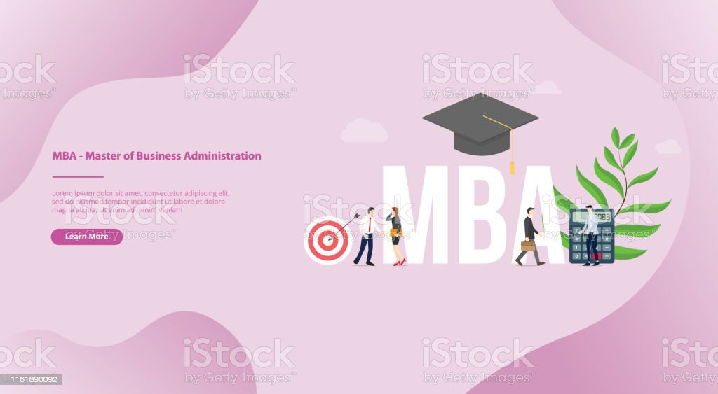 Business Administration Degree >> Mba Master Of Business Administration Business Concept