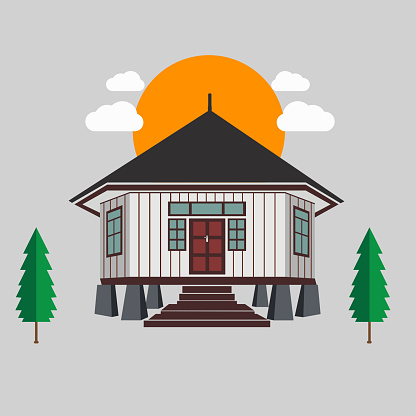 Mbaru Adat Traditional House Of Nusa Tenggara Timur