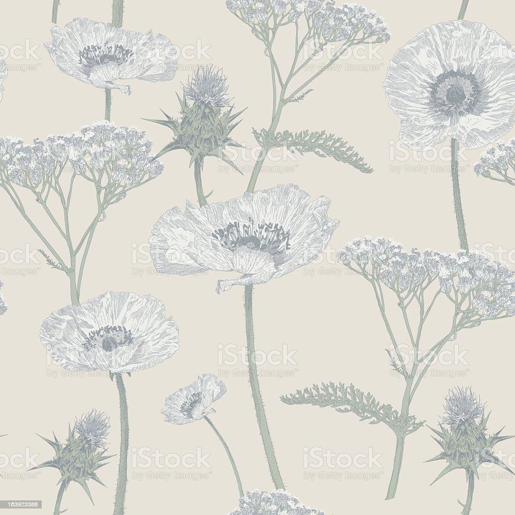 Meadow Repeat royalty-free stock vector art