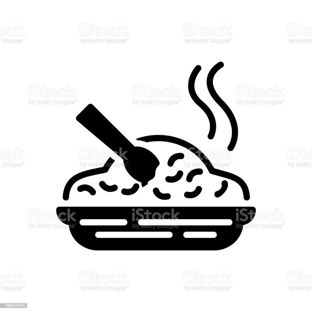 Nourriture repas - Illustration vectorielle
