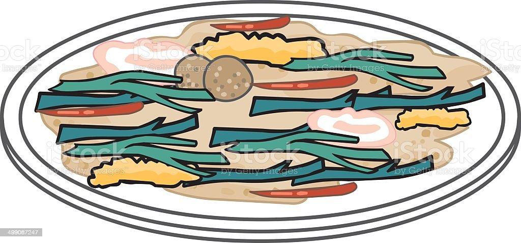 Meal Food Vector vector art illustration